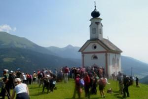 Cappella Veranis, poco prima dell'arrivo.