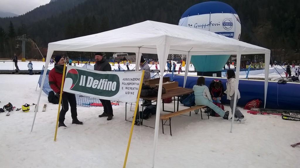 Tarvisio 2016 - Il gazebo del Delfino