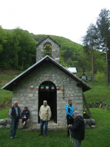 La chiesetta di Ledis