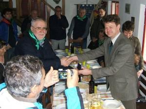Roberto Volpetti e Duncan Macpherson
