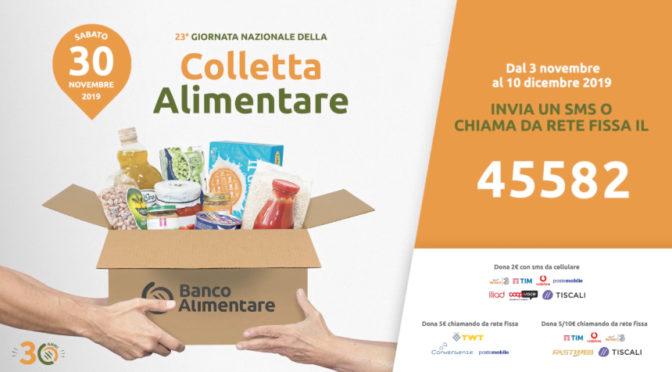 GIORNATA DELLA Colletta Alimentare 30 NOV. 2019